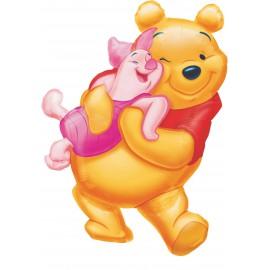 """Globos de foil supershape de 20"""" X 32"""" Pooh y Piglet"""
