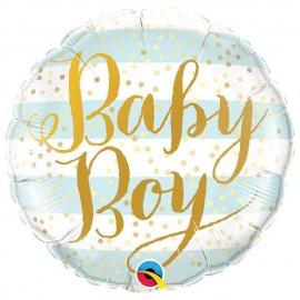 "Globos de foil de 18"" (45Cm) Baby Boy"