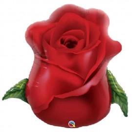 "Globos de Foil de 33"" Rosa Roja"