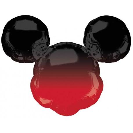 "Globos de foil supershape 27"" Mickey Sombra"