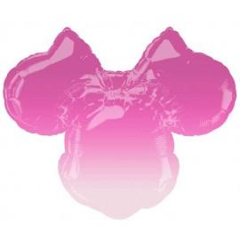"Globos de foil supershape 27"" Minnie Sombra"