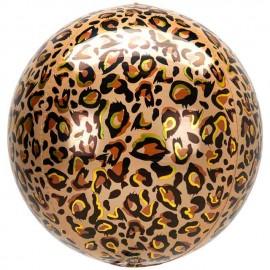 "Globos Foil 16"" ORBZ Animalz Leopardo"