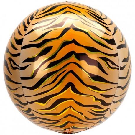"""Globos Foil 16"""" ORBZ Animalz Tigre"""
