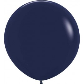 Globos 3FT (100cm) Fashion solido Azul Naval