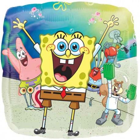 """Globos de foil de 17"""" Bob Y Amigos"""