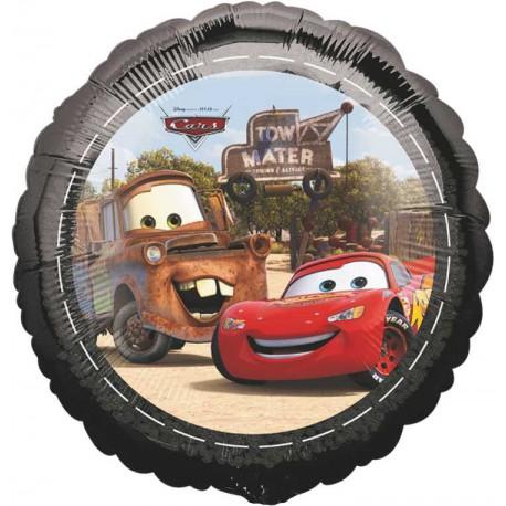 "GLOBOS DE FOIL 18"" CARS"