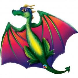 "Globos Foil de 45"" (114Cm) Dragon Mitico"