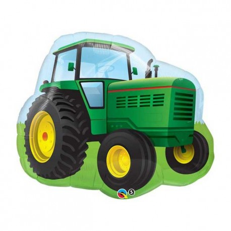 "Globos Foil Supershape 34"" (86Cm) Tractor"