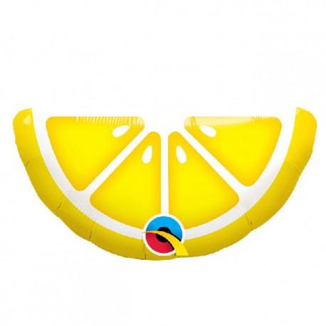 """Globos Foil Minishape 14"""" (36Cm) Limon"""
