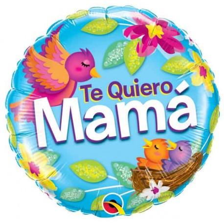 """Globos Foil 18"""" (46Cm) Te Quiero Mama"""