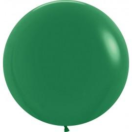 """Globos de Látex de 24"""" (61Cm) Verde Selva"""