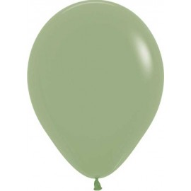 "Globos de 5"" Fashion solido Eucalipto"