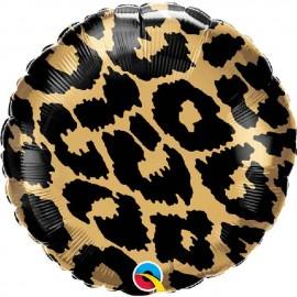 "Globos Foil 18"" (45Cm) Manchas Leopardo"