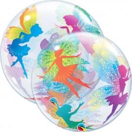 """Globos de 22"""" Bubbles Hadas y Destellos"""