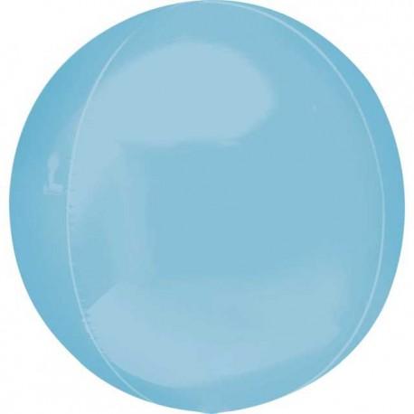 "Globos Foil 16"" ORBZ Azul Pastel"
