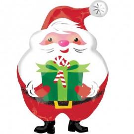 Foil Santa Claus Regalo Navidad