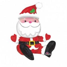 Foil Santa Claus Sentado