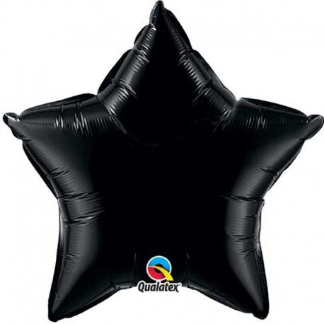 """Globos de Foil Estrella de 36"""" Negro Onix"""