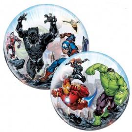 "Globos 22"" Bubbles Marvel Vengadores"