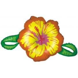 "Globos de foil de 39"" Hibiscus amarillo"