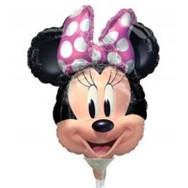 Globos de Foil Minnie Lunares mini