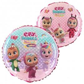 "Globos Foil 18"" (46Cm) Cry Babies"