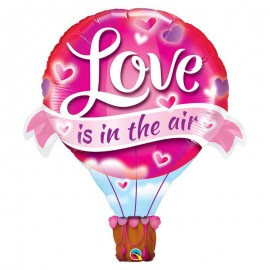 "Globos Foil supershape 42"" Love Is In The Air"