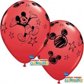 "Globos de Látex 12"" Mickey B6"