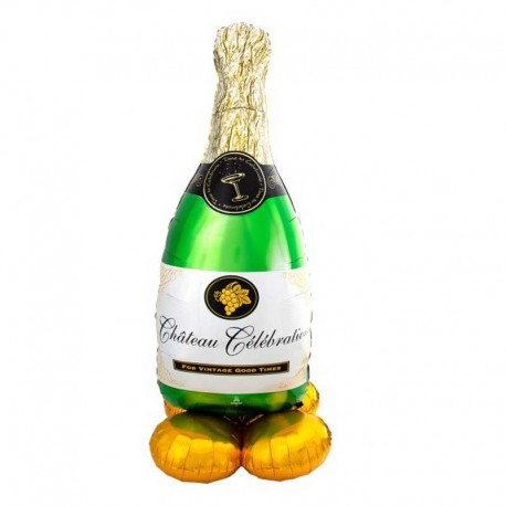 "Globos Foil 60"" (152Cm) Botella Champagne Airloonz"