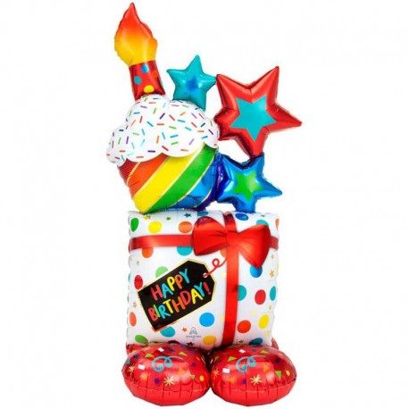 "Globos Foil 55"" (139Cm) Regalos Birthday Airloonz"