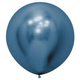 """Globos Látex de 24"""" (61Cm) Reflex Azul"""