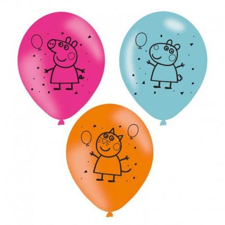 "Globos 11"" Peppa Pig B6"