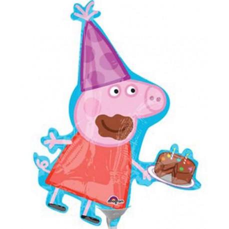 Globos Foil Mini Peppa Pig
