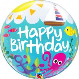 "Globos de 22"" Bubbles Birthday Playero"