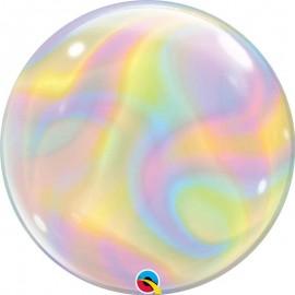 """Globos 22"""" Bubbles Remolinos Iridiscentes"""