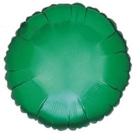 """Globos de foil Redondos de 18"""" Verde esmeralda"""