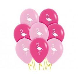 Globos R-12 (30Cm) Fashion Flamingo