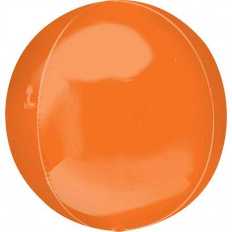 "Globos Foil 16"" ORBZ Naranja"