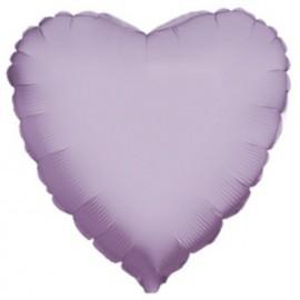"""Globos de foil Corazón de 18"""" Lila betallic"""