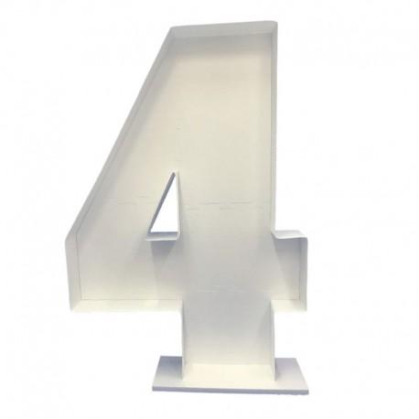 Mosaico Numero Cuatro