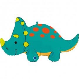"Globos Foil 36"" (91Cm) Otro Triceratops Mas"