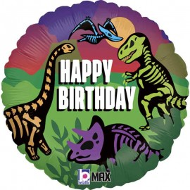 "Globos foil 18"" Jurassic Birthday"