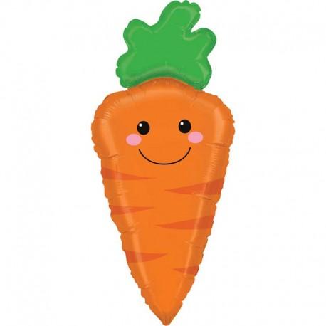 """Globos Foil 31"""" (79Cm) Zanahoria"""