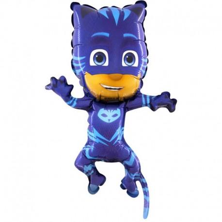 "Globos de Foil 15"" PJ Masks Mini Cat Boy"