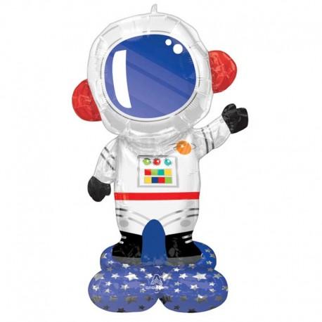 "Globos Foil 57"" (144Cm) Astronauta Airloonz"
