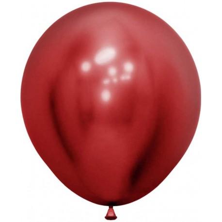 """Globos de 18"""" (45Cm) Reflex Rojo"""