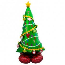 """Globos Foil 59"""" (149Cm) Arbol Navidad Airloonz"""