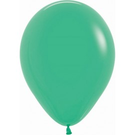 """Globos de 9"""" (22,8cm) Fashion solido Verde Sempertex"""