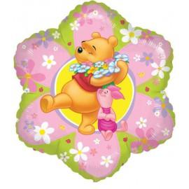"""Globos de foil de 18"""" Pooh flores"""