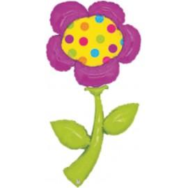 "Globos de foil de 72"" Flor lunares"